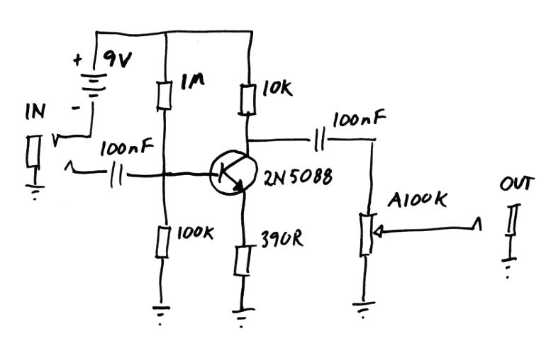 rumbust guitar stompbox wiki, schematic